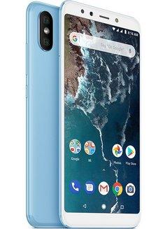 Xiaomi Mi A2 Bleu 32 GoMonobloc avec flash compatible MP3 3G avec autofocus avec écran tactile 3G+ 3G+ 3G++ avec détection des visages Android 4G LTE Smartphone Double SIM 4G Téléphone portable 5,9 pouces avec APN 20 Mpixels 189 g Tactile Compact avec APN 5 Mpixels 3G HSDPA+ 4G+ Qualcomm Snapdragon 660 Octo-core avec zoom numérique Mi A2 32 Go Bleu 4 Go