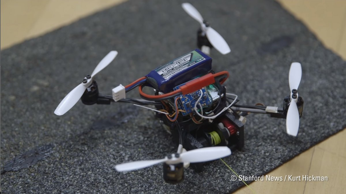 Small flying robots able to pull objects up to 40 times their weight