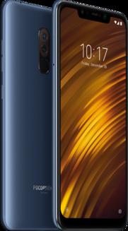 POCOPHONE F1 Bleu acier 64GoMonobloc 3G MicroSD 3G+ 3G+ 3G++ Android avec APN 12 Mpixels 4G LTE Smartphone Double SIM 4G Téléphone portable avec APN 20 Mpixels 182,0 g Tactile Bluetooth 5.0 6,2 pouces Compact avec APN 5 Mpixels 3G HSDPA+ 4G+ Snapdragon 845 POCOPHONE F1 Bleu 64 Go 6 Go
