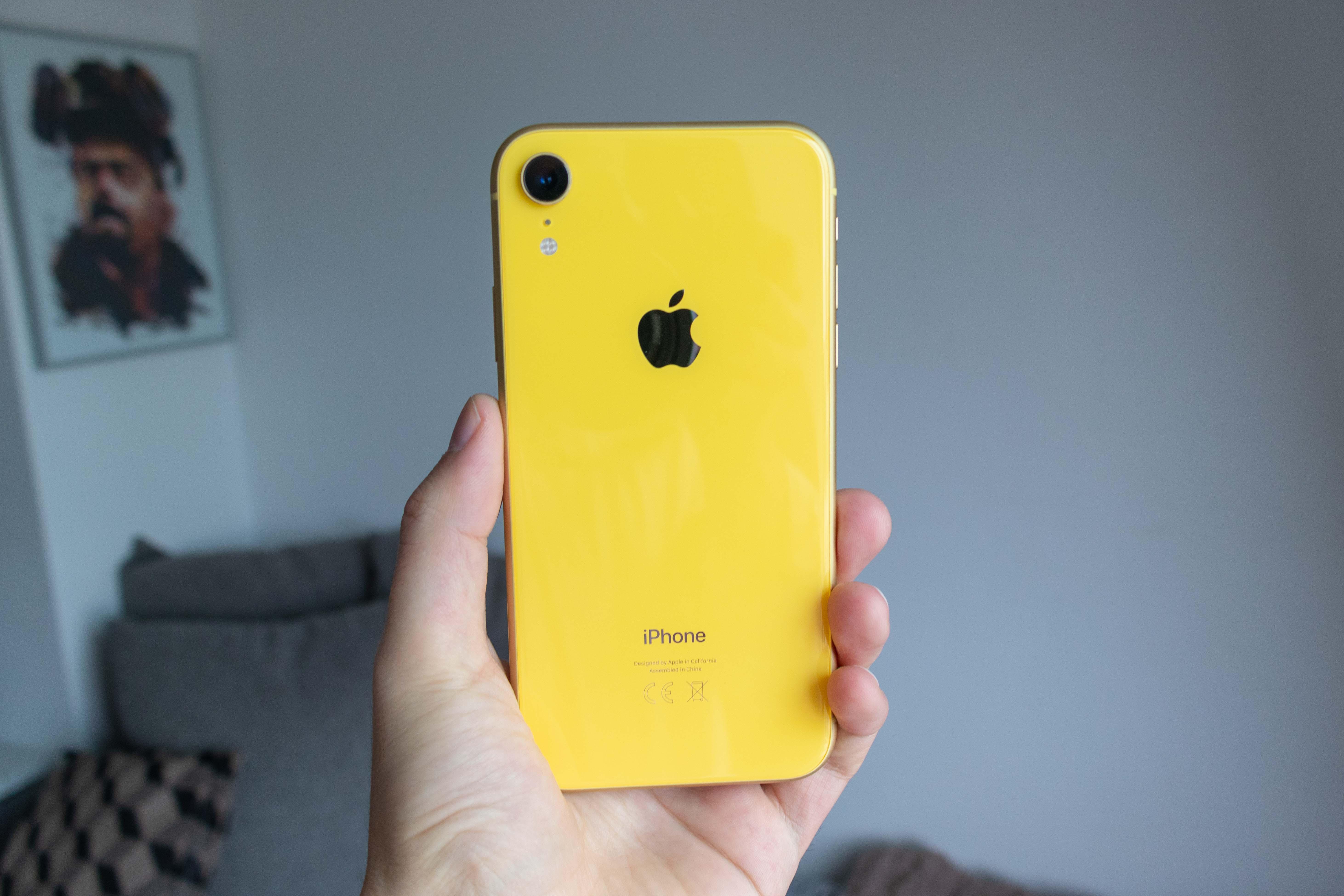 Test Iphone Xr 224 Vous Faire Regretter L Achat De L Iphone Xs