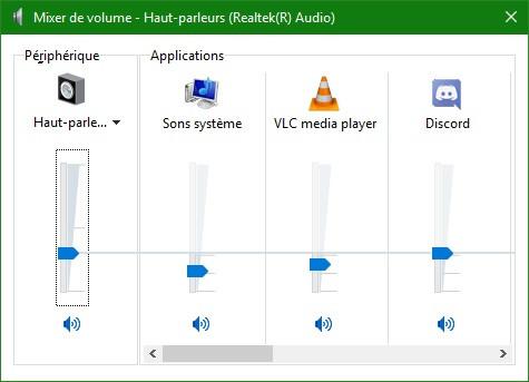 Mixer de volume
