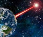 Le laser comme moyen de dire