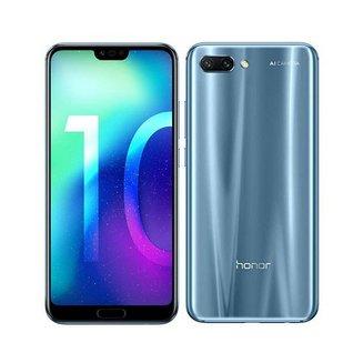 """Honor 10 Gris 64GoMonobloc avec flash compatible MP3 3G avec autofocus avec écran tactile Bluetooth 4G 3G+ 3G+ 3G++ avec détection des visages avec correction des yeux rouges Android 4G LTE Smartphone Double SIM 4G 4 Go avec APN 16 Mpixels Téléphone portable 153,0 g Tactile Kirin 970 3G HSDPA+ 4G+ 5,84"""" avec APN 24 Mpixels avec zoom numérique Honor 10 64 Go Gris"""