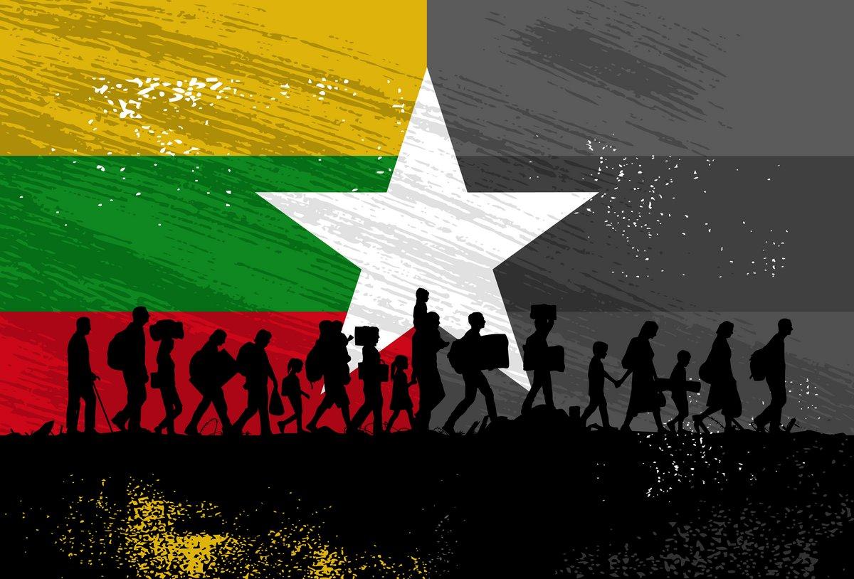 Rohingyas Myanmar Birmanie