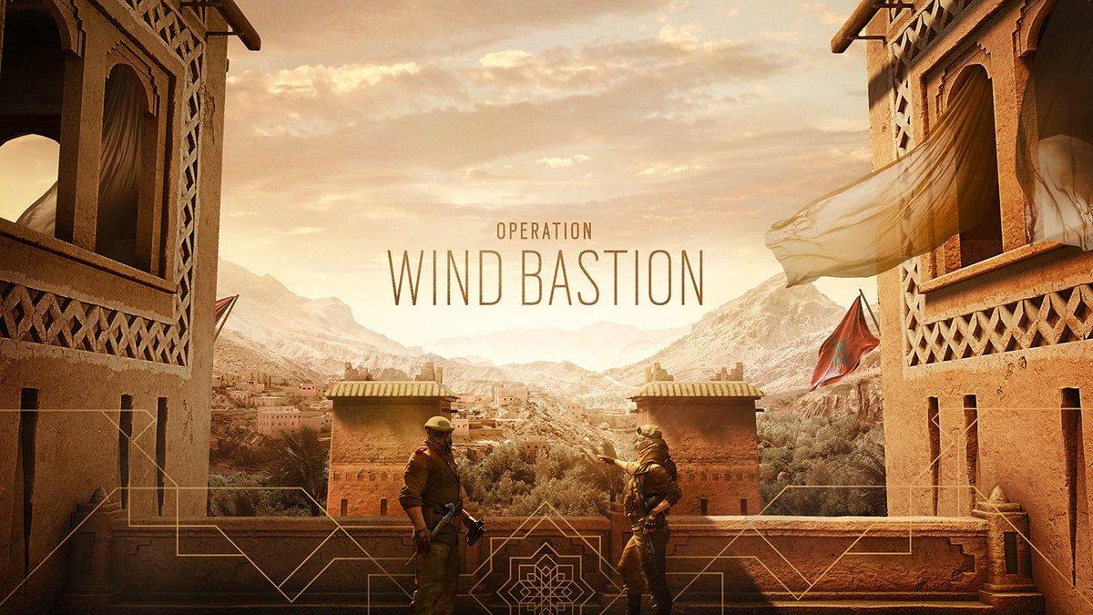 Rainbow Six Siege Opération Wind Bastion