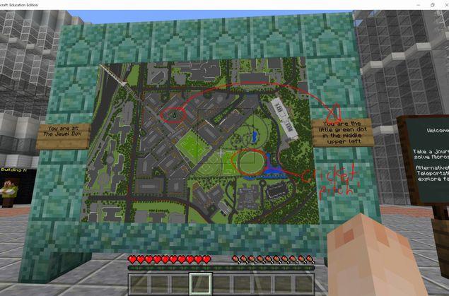 Microsoft Minecraft Campus
