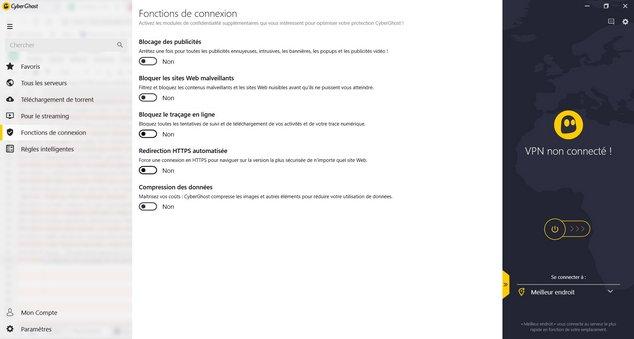 interface cyberghost options fonctions de connexion.jpg