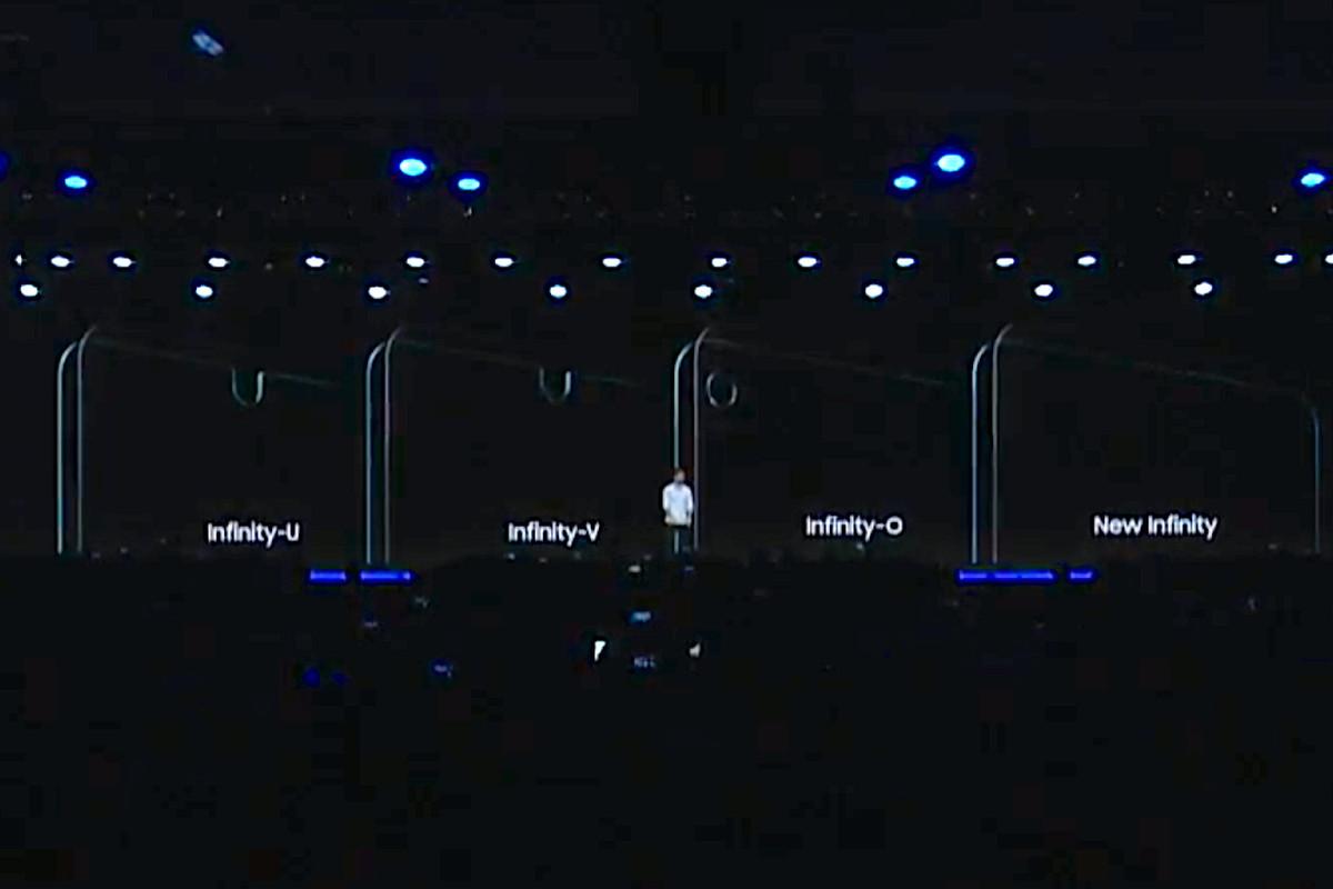 Samsung écrans infinity