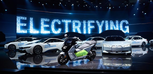 bmw voiture électrique