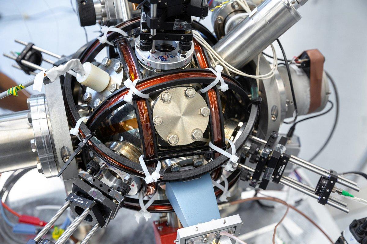 Accéléromètre quantique