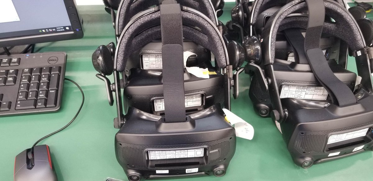 Valve casque VR 2