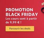C'est le Black Friday chez Udemy : tous les cours à 9,99€ jusqu'au 30 novembre !