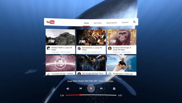 youtube oculus go