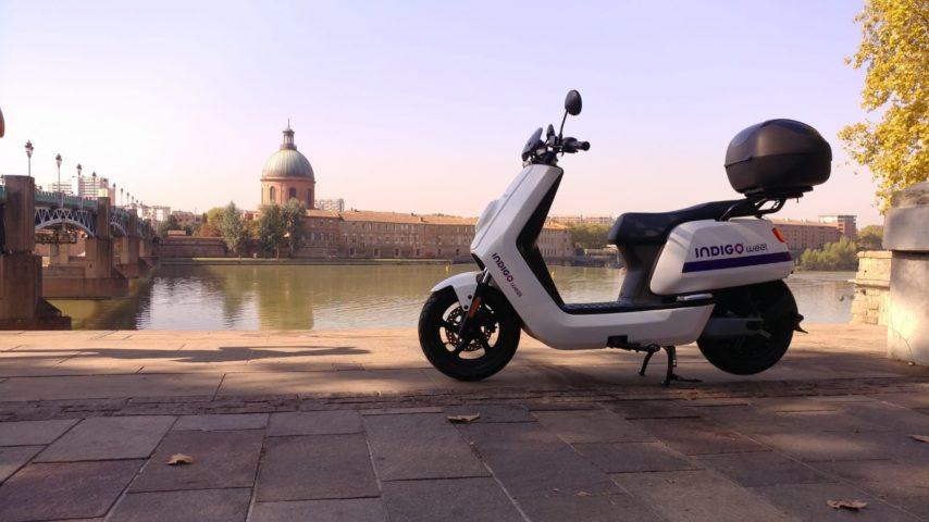 Indigo Weel scooter électrique