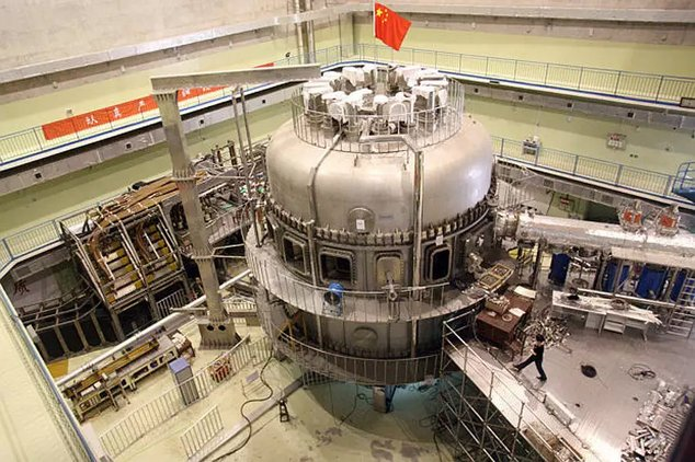east réacteur nucléaire chine