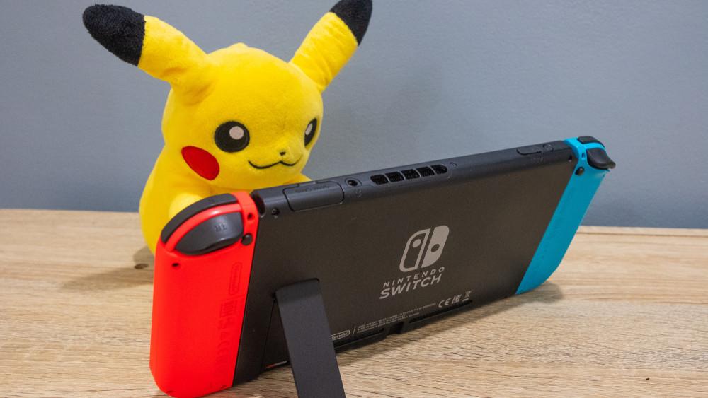 Nintendo Switch Pikachu