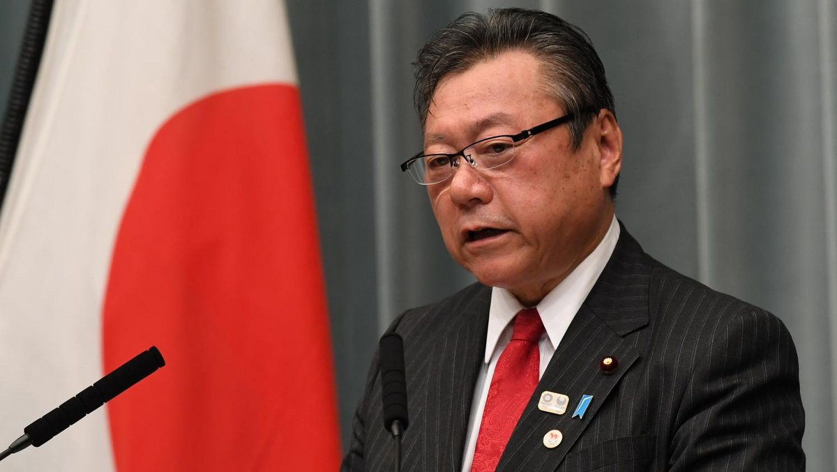 Ministre japonais cybersécurité