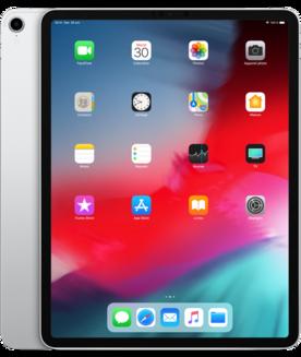 "Apple iPad Pro 12,9"" 2018 Argent 64 GoWifi 4G 10 Heure(s) 630,0 g iOS iPad Carte SIM Nano 12,9 pouces 1 x USB Type C A12X iOS 12 Écran Liquid Retina 64Go"