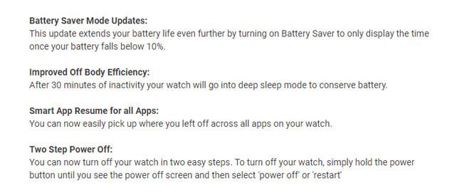 Wear OS Battery