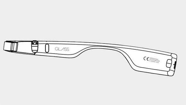 google glass 2 schéma