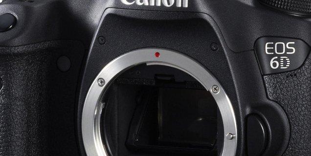 ⚡ Canon EOS 6D à 999 euros au lieu de 1199 pour le Black Friday
