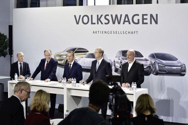 Volkswagen plan d'investissement