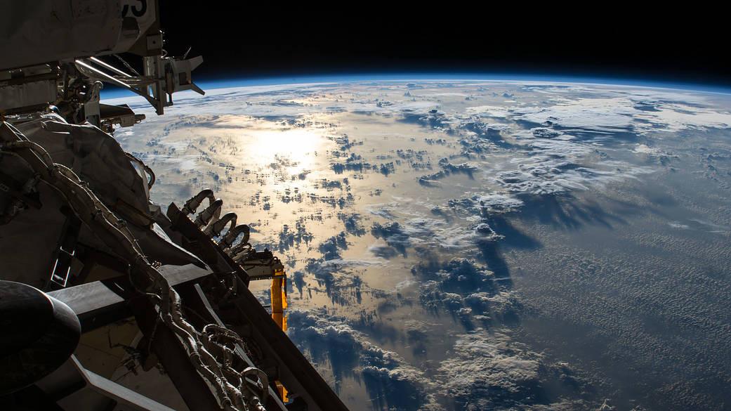 Vue Terre depuis ISS