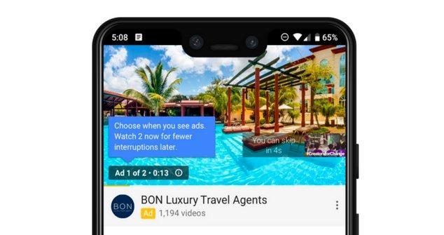 youtube publicité
