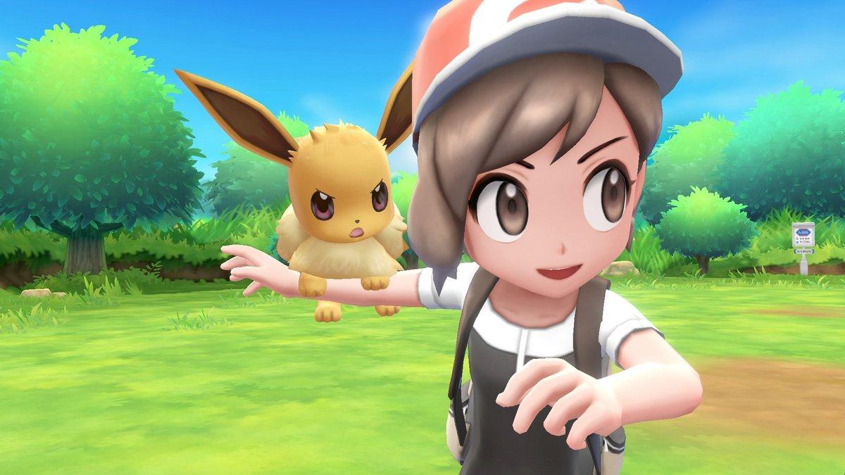 Pokémon Let's Go Évoli