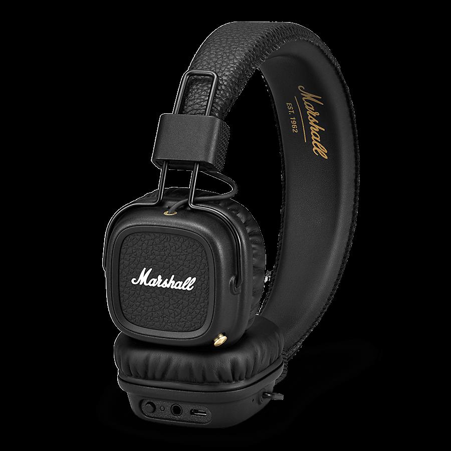Le Casque Audio Marshall Major Ii Black Bluetooth à 5999 Euros Pour