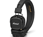 Le casque audio Marshall MAJOR II BLACK BLUETOOTH à 59,99 euros pour le Black Friday