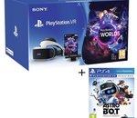 Pack casque Sony Playstation VR (V2) + Camera + 2 jeux à 199€ pour le Black Friday