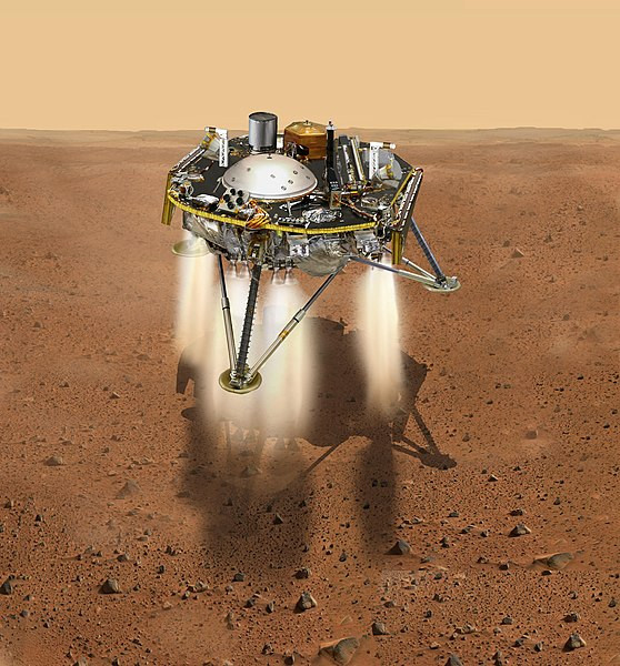 InSight_about_to_land_on_the_surface_of_Mars