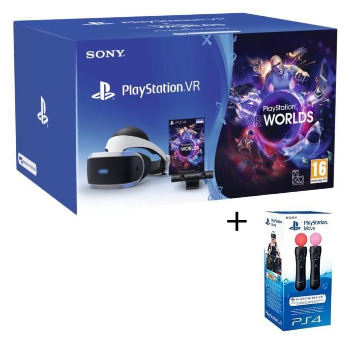 Bon Plan Casque Vr Playstation V2 Camera Vr Worlds