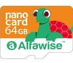 ⚡ Bon plan : carte Micro SDXC Alfawise 64Go à 7,92€ livrée