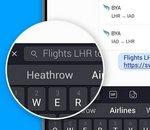 SwiftKey se dote d'un module de recherche Web … via Bing