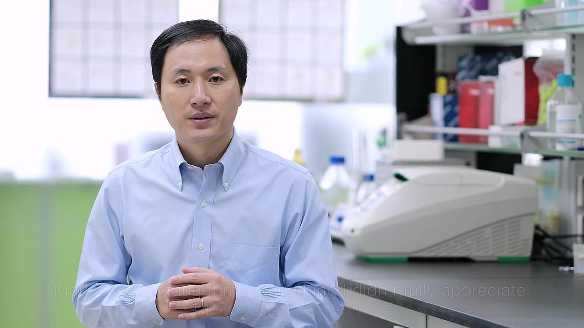 He Jiankui Chine bébé OGM