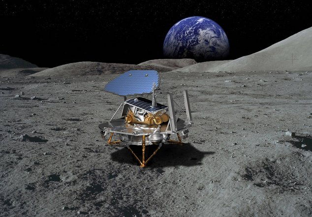 Lockheed Martin Space Concept for a Commercial Lunar Lander