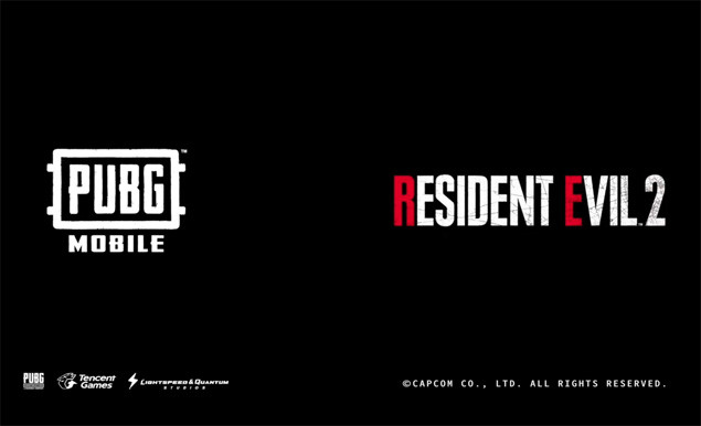 PUBG Mobile Resident Evil 2