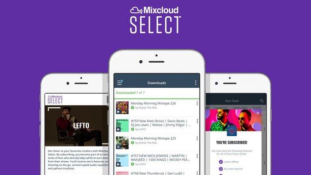 mixcloud select