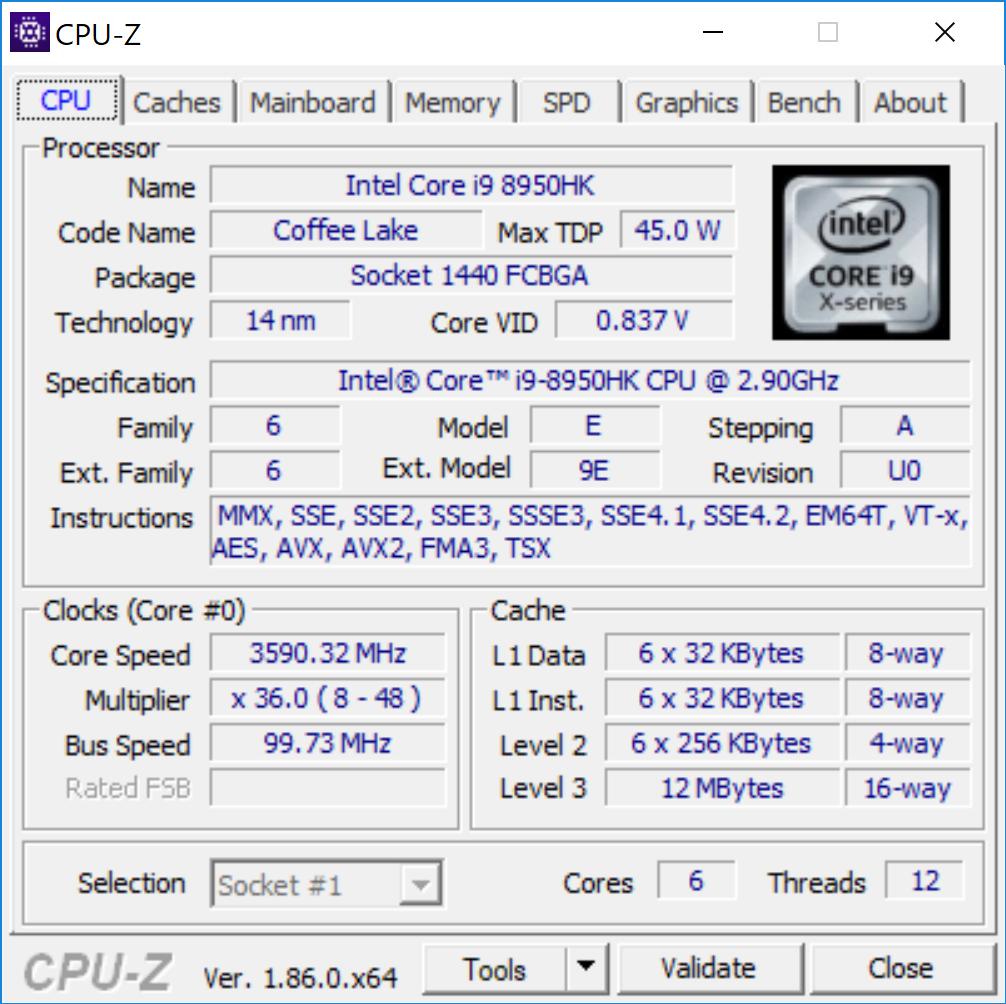 asus zenbook pro 15 ux580 cpu-z_demarage.png