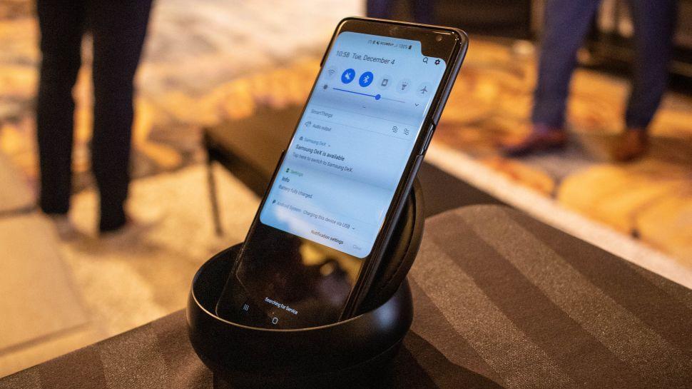 Samsung smartphone 5G encoche