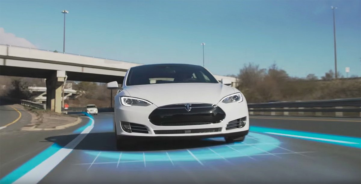 Tesla Autopilote