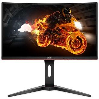 """AOC 24"""" LED - C24G1250 cd/m² 178° 24 pouces 1 ms 16:9 178 144 Hz Full HD 1920 x 1080 1 x HDMI 1 x DisplayPort 1 x VGA 1 x Sortie de casque LED/VA"""