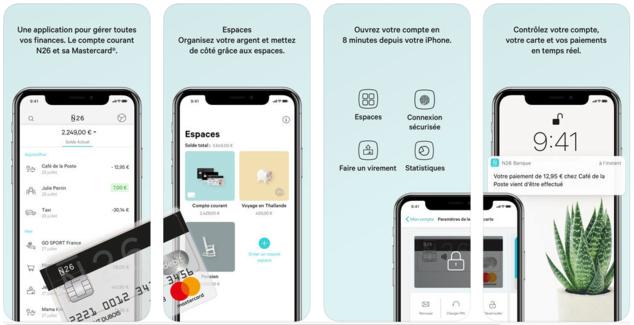 Banque mobile N26 : votre compte courant et carte MasterCard à 0€ 2