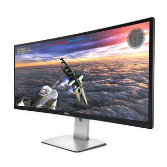 Dell UltraSharp U3415W300 cd/m² 8 ms LED 60 Hz 2,000,000:1 WQHD 21:9 1 x DisplayPort 34 pouces 3440 x 1440 4 x USB 3.0 1 x Mini DisplayPort 1 x Casque (Jack 3.5mm Femelle)