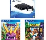 ⚡️ Bon Plan : Pack PS4 500 Go + Spyro Reignited Trilogy + Crash Bandicoot N'Sane Trilogy à 257,97€