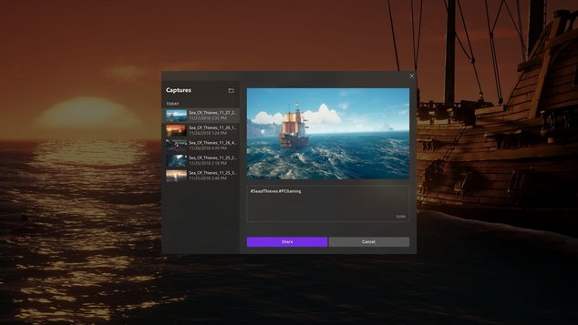 windows 10 mise à jour game bar