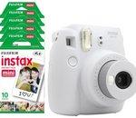 ⚡️ Bon Plan : Appareil Photo Fujifilm Instax Mini 9 blanc + 50 films à 89,99€ avec le code APP10E