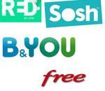 🔥 Derniers jours sur les promos forfaits -10€ chez RED by SFR, Sosh, B&You et Free